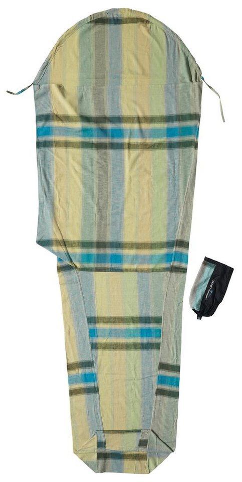 Cocoon Schlafsack »MummyLiner Inlet Cotton Flannel« in beige