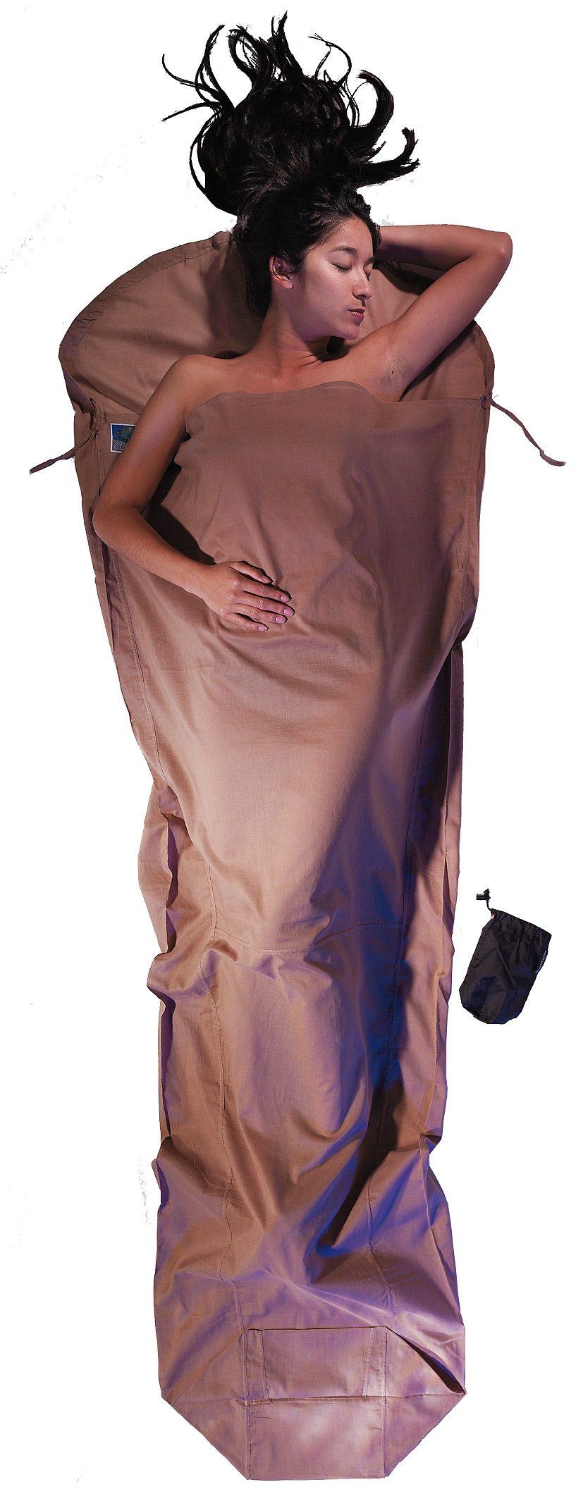 Cocoon Schlafsack »MummyLiner Inlet Egyptian Cotton«