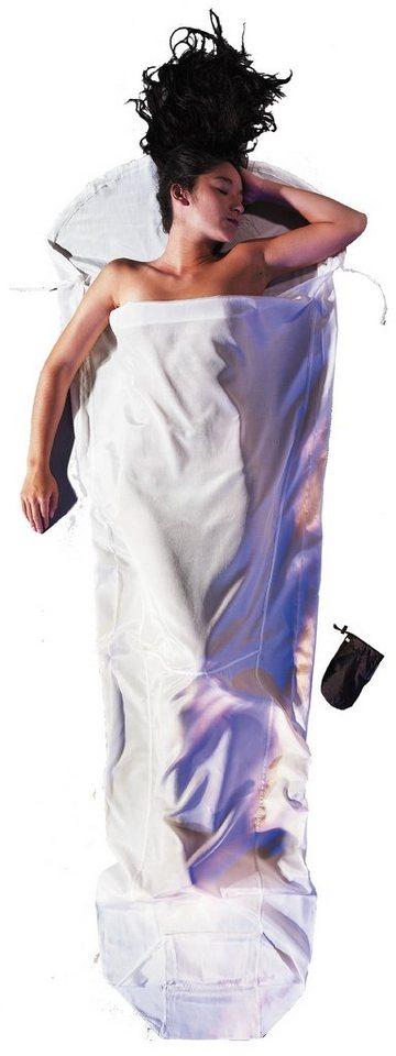 Cocoon Schlafsack »MummyLiner Inlet Silk Cotton« in weiß