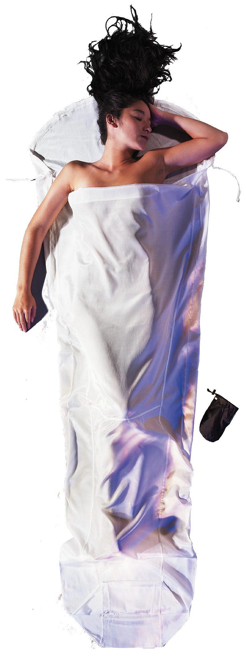 Cocoon Schlafsack »MummyLiner Inlet Silk Cotton«