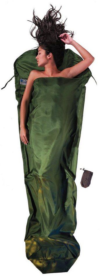 Cocoon Schlafsack »MummyLiner Inlet Silk« in oliv