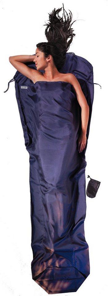 Cocoon Schlafsack »MummyLiner Inlet Ripstop Silk« in blau