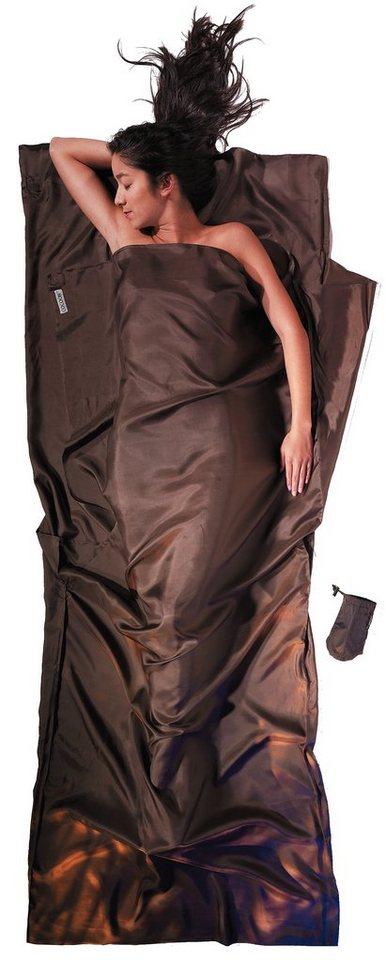 Cocoon Schlafsack »TravelSheet Inlet Silk« in braun