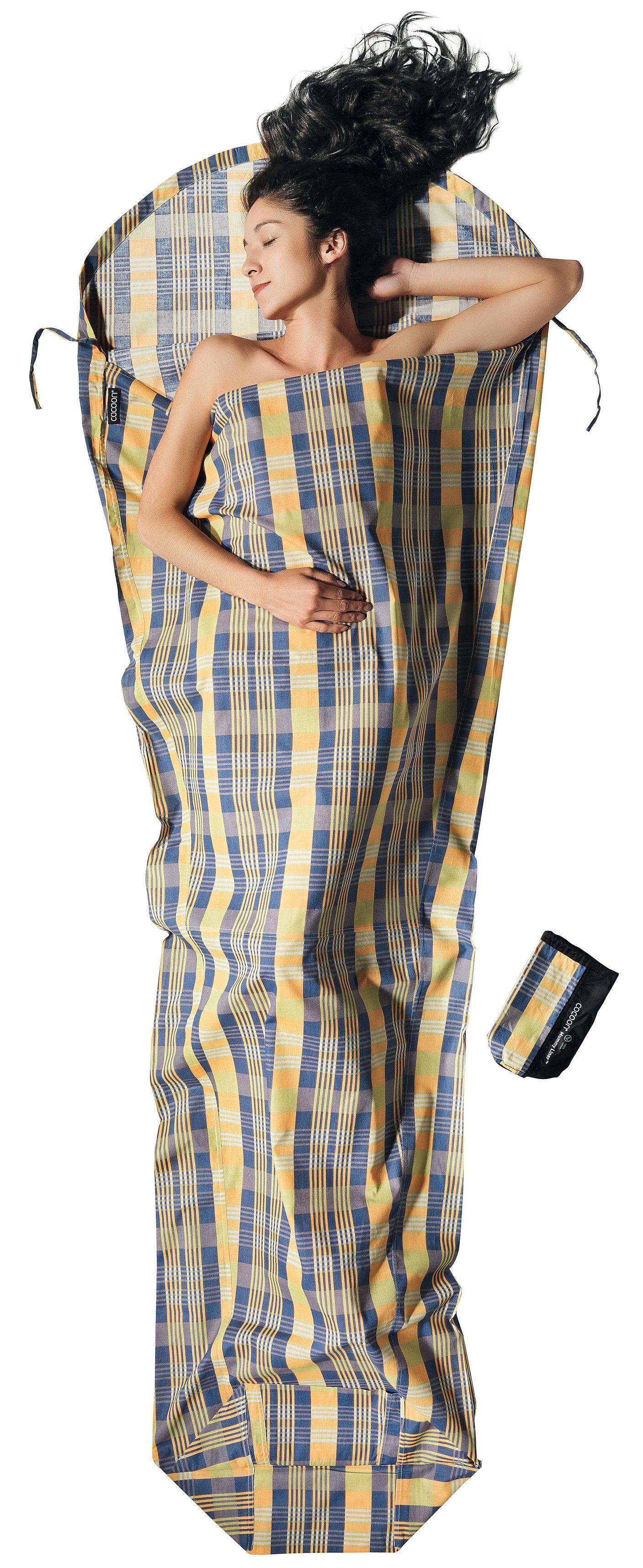 Cocoon Schlafsack »MummyLiner Inlet Cotton«