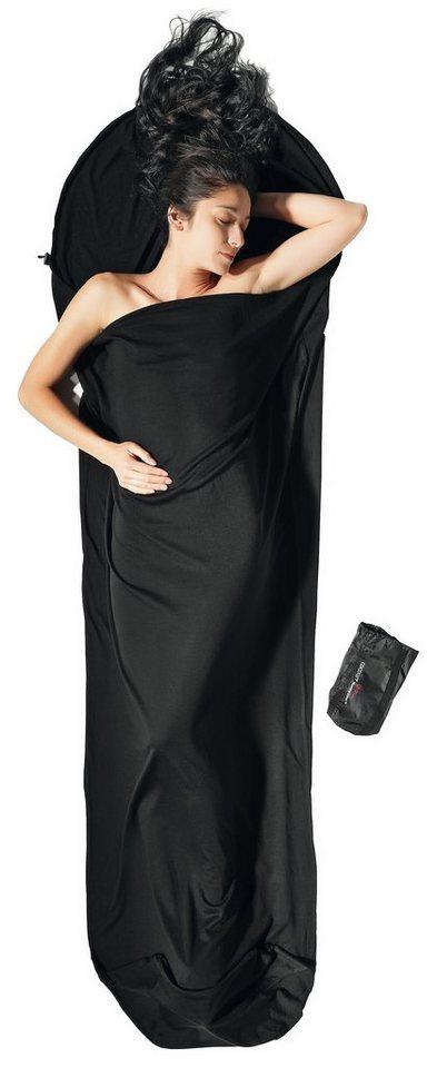Cocoon Schlafsack »MummyLiner Inlet Merino Wool« in schwarz
