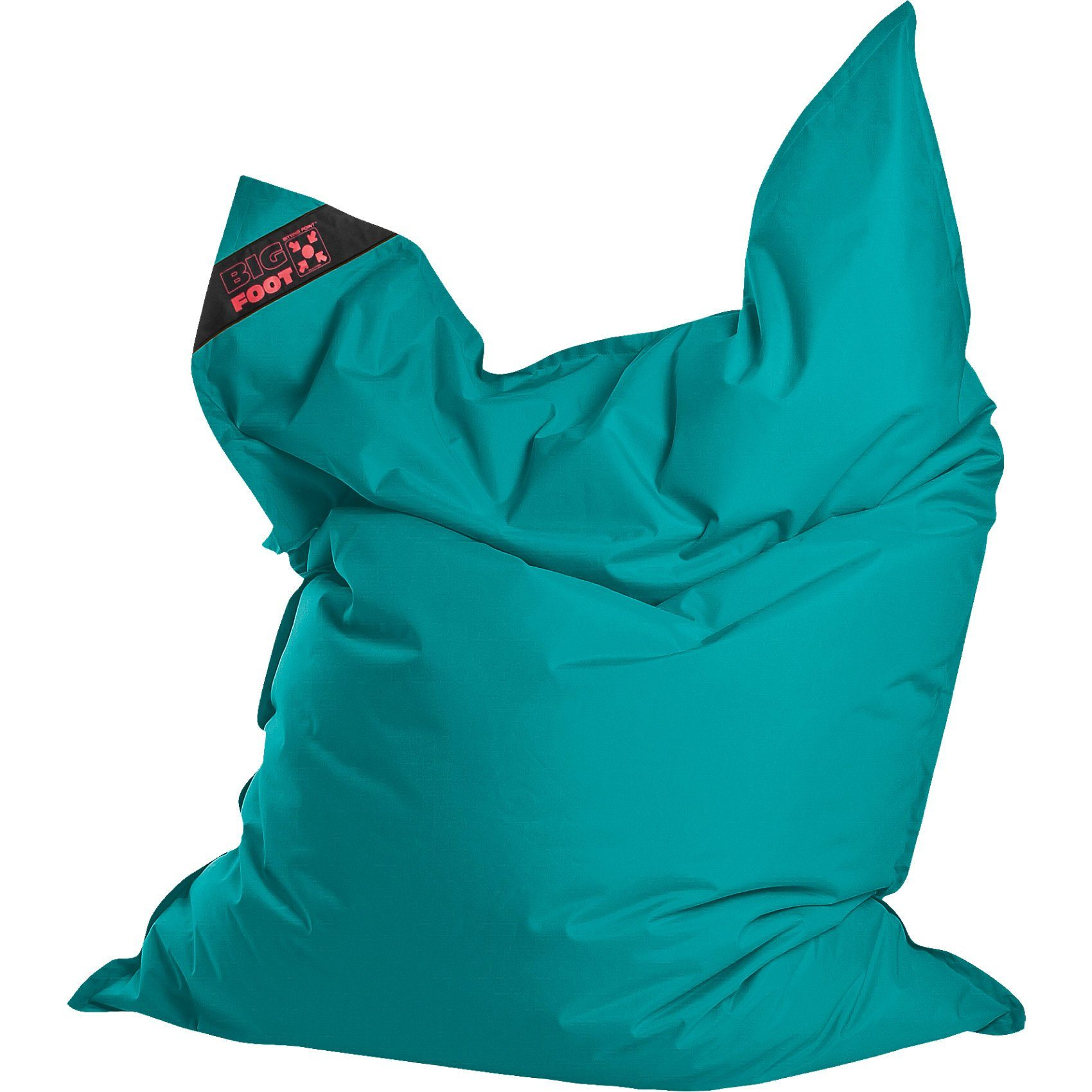 Sitting Point Sitzsack BIGFOOT SCUBA, 130 x 170 cm, petrol