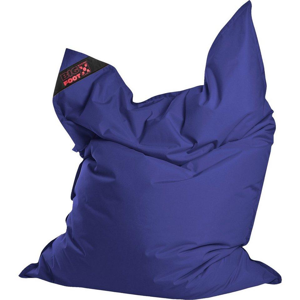 Sitting Point Sitzsack BIGFOOT SCUBA, 130 x 170 cm, dunkelblau in blau