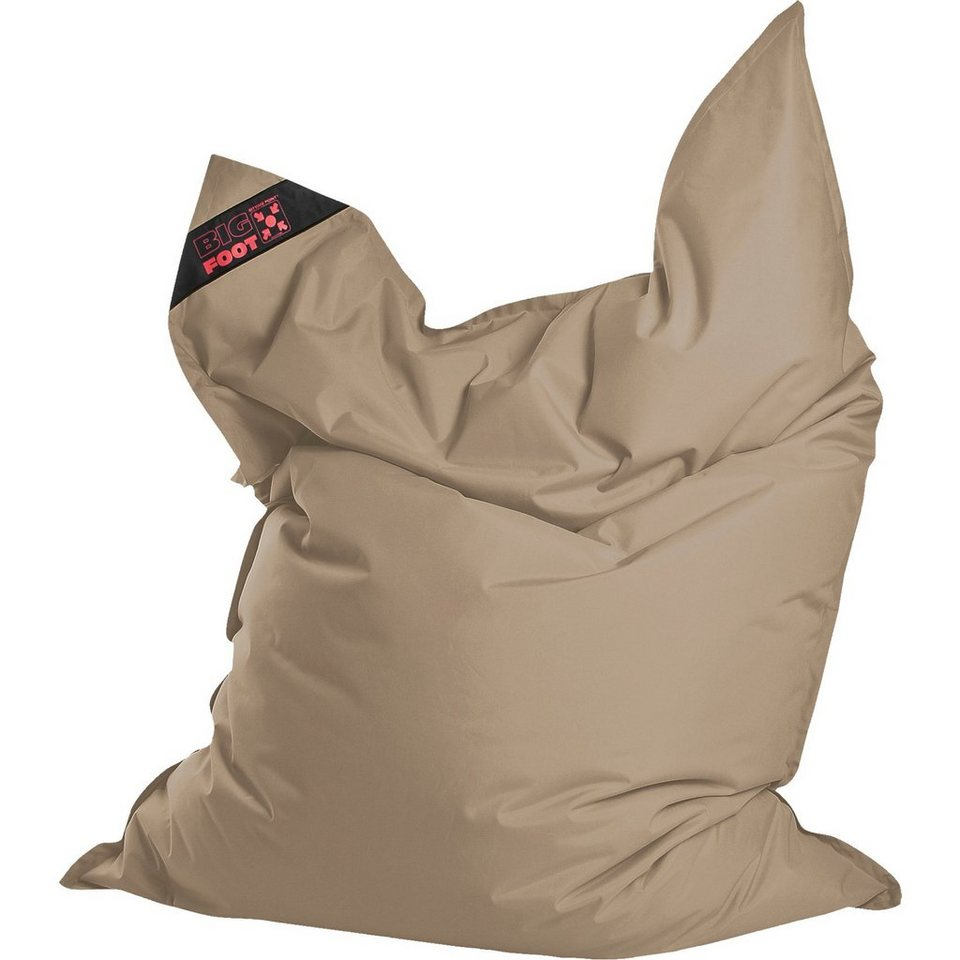Sitting Point Sitzsack BIGFOOT SCUBA, 130 x 170 cm, khaki in beige