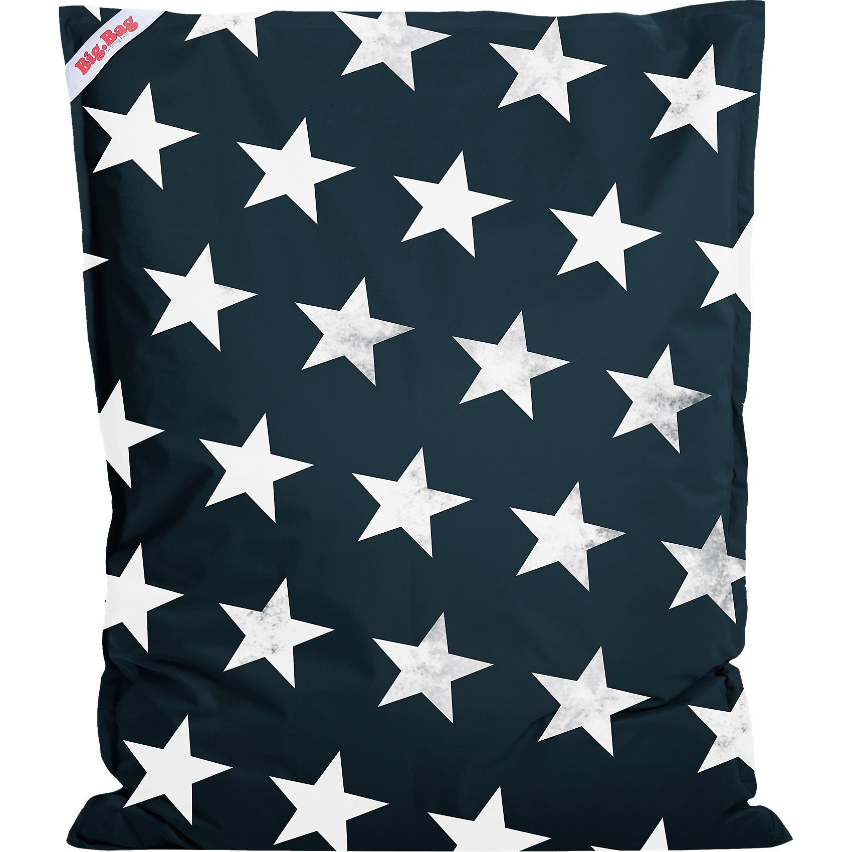 Sitting Point Sitzsack BigBag STARS, 130 x 170 cm, jeansblau