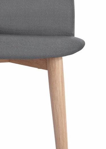 PBJ Polsterstuhl »Basic Classic« Beine white oak  im nordischem Design
