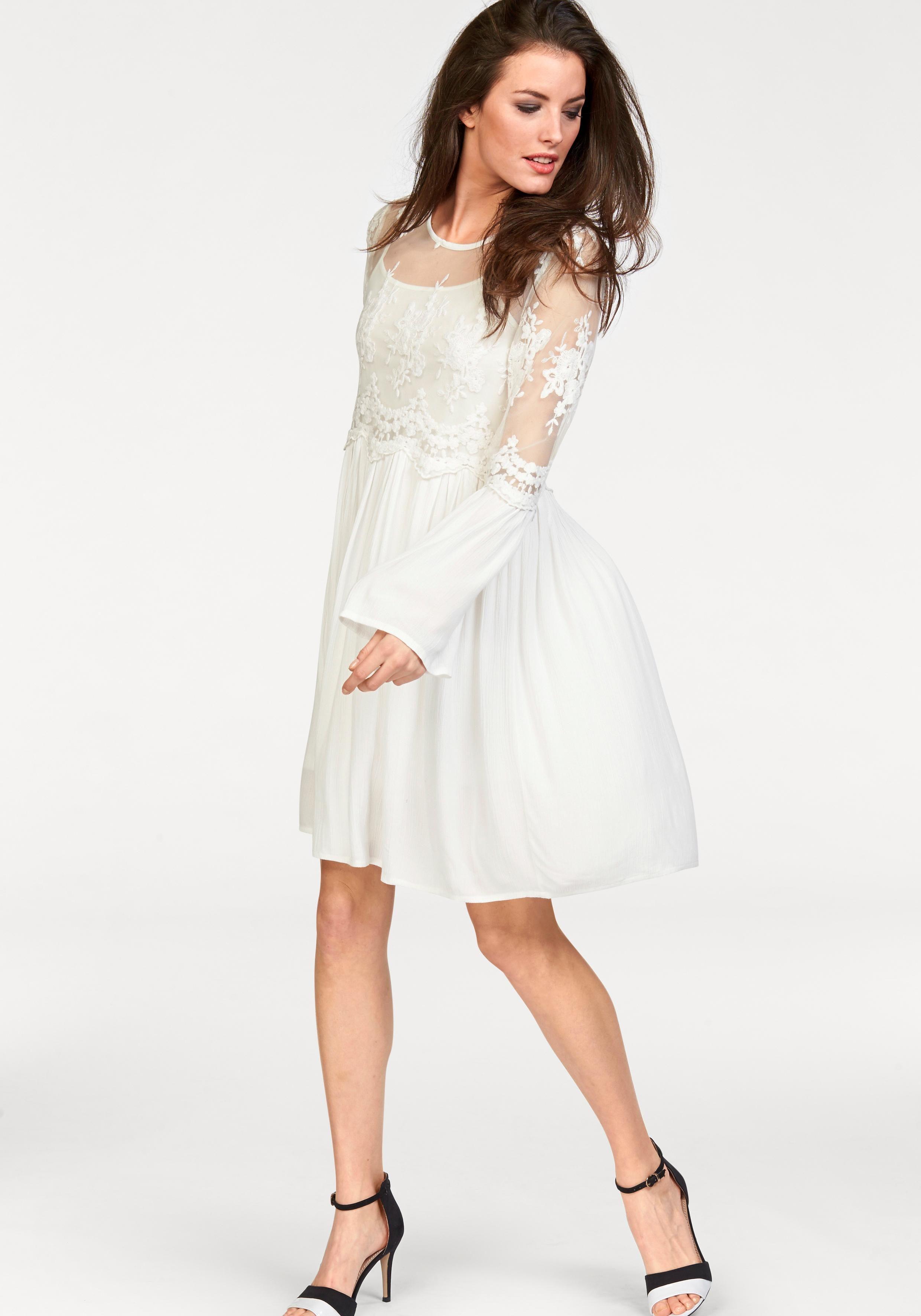 Aniston by BAUR Spitzenkleid (Set, 2-tlg) im Romantik-Look