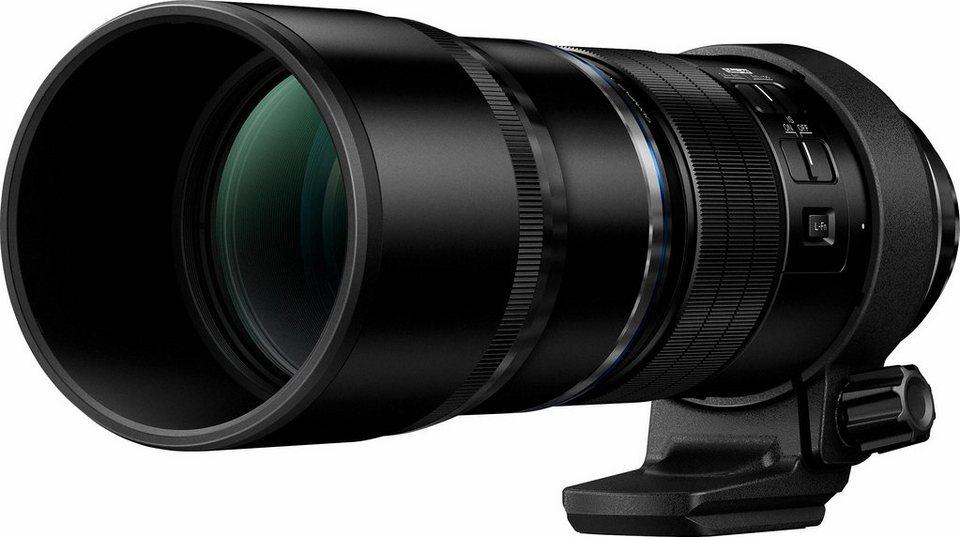 Olympus M.ZUIKO DIGITAL ED 300mm 1:4 IS PRO Tele Objektiv in schwarz