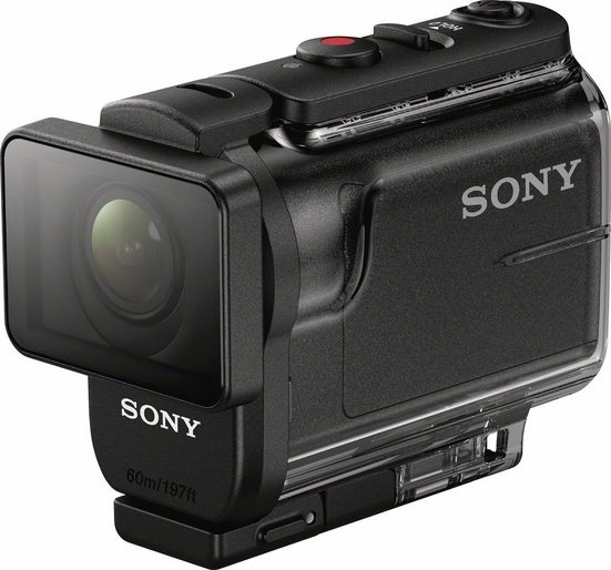 Sony »HDR-AS50 1080p (Full HD)« Action Cam (Full HD, WLAN (Wi-Fi), Bluetooth, 3x opt. Zoom)