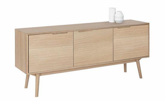 PBJ Sideboard »Curve«, white oak, im nordischen Design