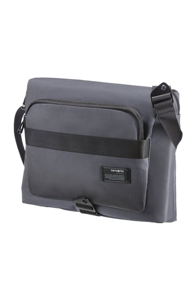 Samsonite Messengerbag mit Tablet- und 11,6-Zoll Laptopfach, »Cityvibe« in ash grey