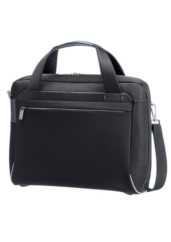 Samsonite Businesstasche mit Schultergurt, Tablet- und 16-Zoll Laptopfach, »Spectrolite« in schwarz