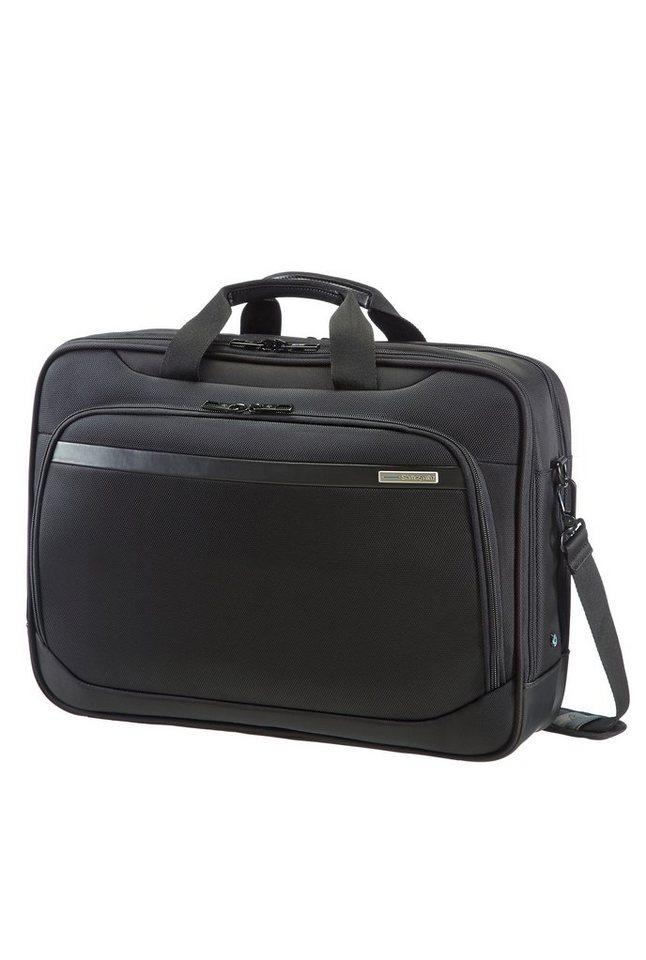 Samsonite Businesstasche »Vectura«, mit Laptop- und Tabletfach | Taschen > Business Taschen > Sonstige Businesstaschen | Schwarz | Pu - Polyester | Samsonite