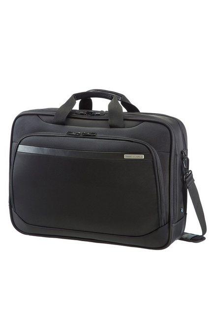 Samsonite Businesstasche mit Laptop- und Tabletfach, »Vectura« | Taschen > Business Taschen > Sonstige Businesstaschen | Schwarz | Pu - Polyester | Samsonite