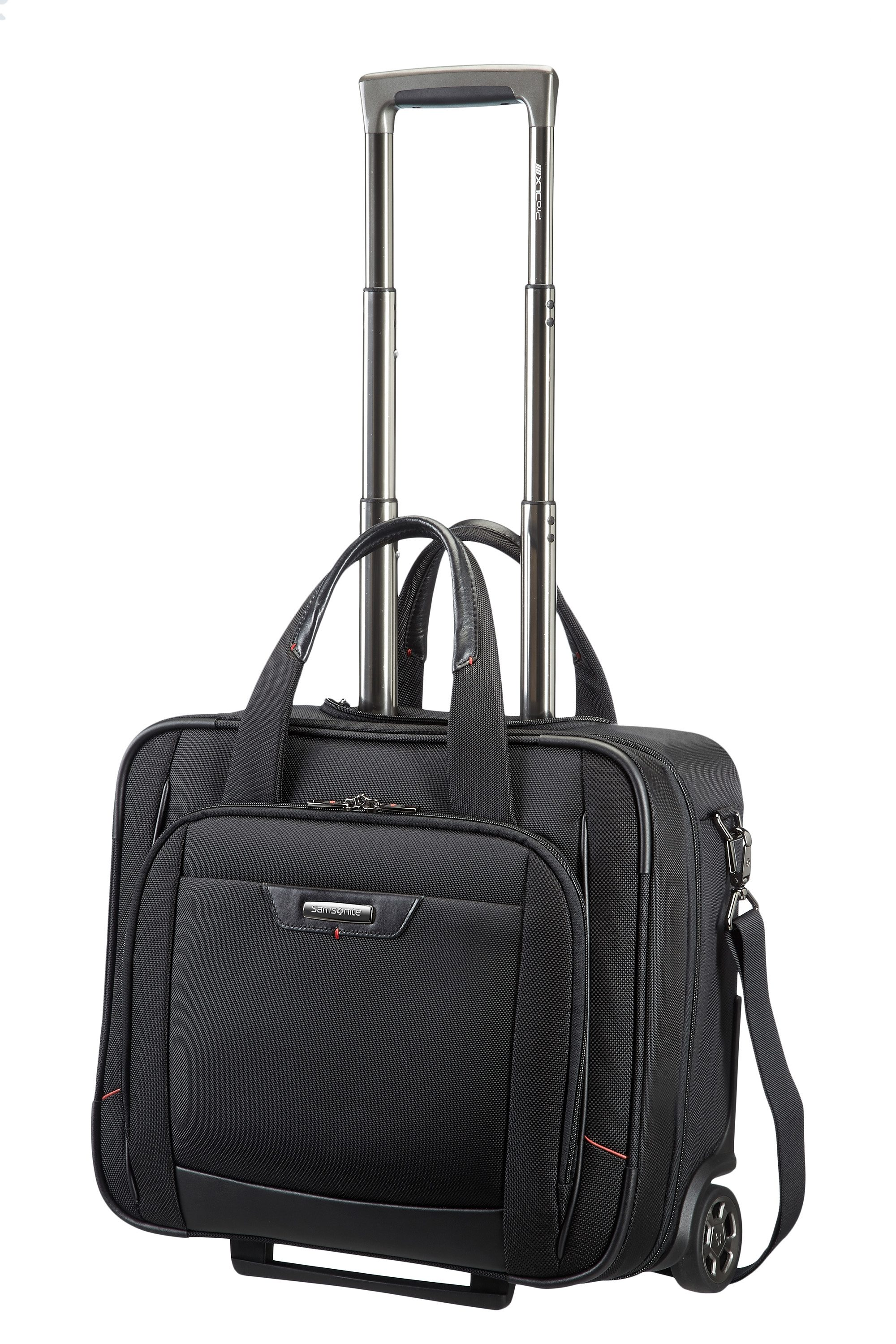 Samsonite Businesstrolley mit 2 Rollen, Schultergurt, Tablet- und Laptopfach, »Pro-DLX 4«