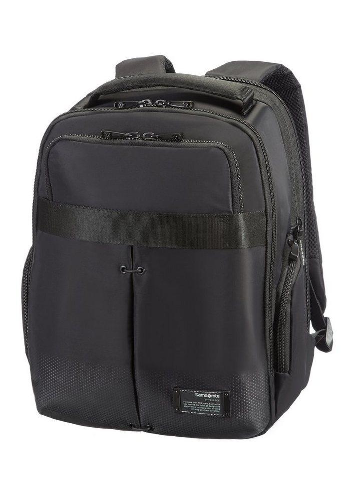 Samsonite Rucksack mit Volumenerweiterung und Laptopfach, »Cityvibe« in jet black