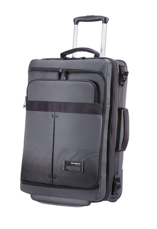 samsonite trolley reisetasche mit 2 rollen 16 zoll laptopfach erweiterungsfunktion cityvibe. Black Bedroom Furniture Sets. Home Design Ideas