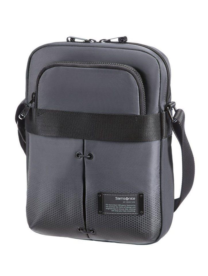 Samsonite Schultertasche mit 9,7-Zoll Tabletfach und Organizer, »Cityvibe« in ash grey