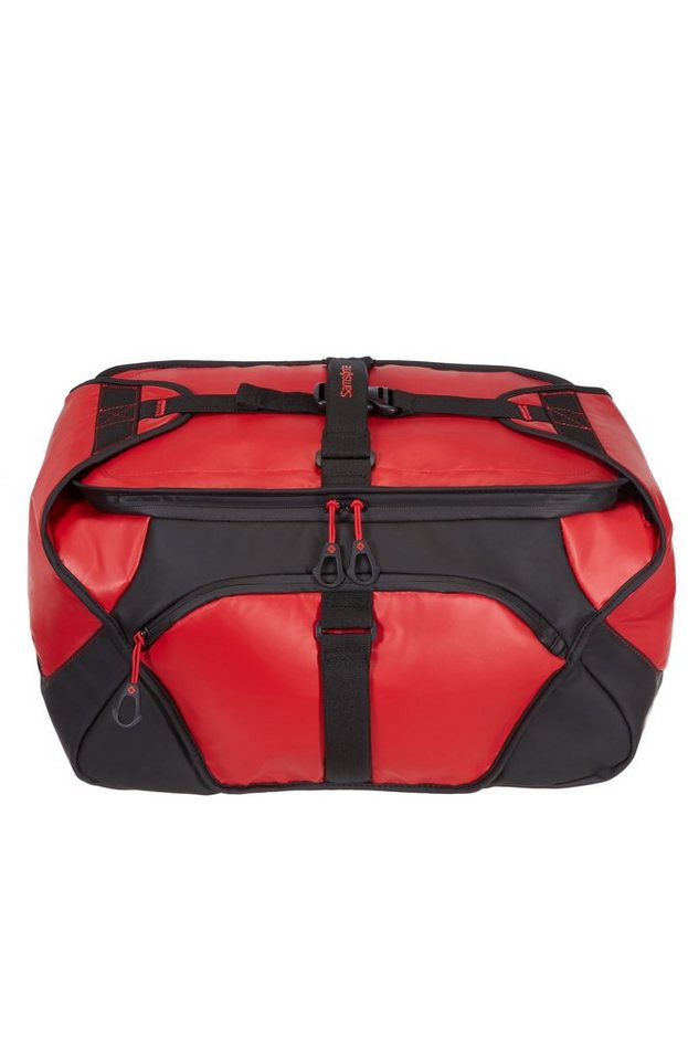 Samsonite Reisetasche mit abnehmbarem Schultergurt, »Paradiver« in crimson red