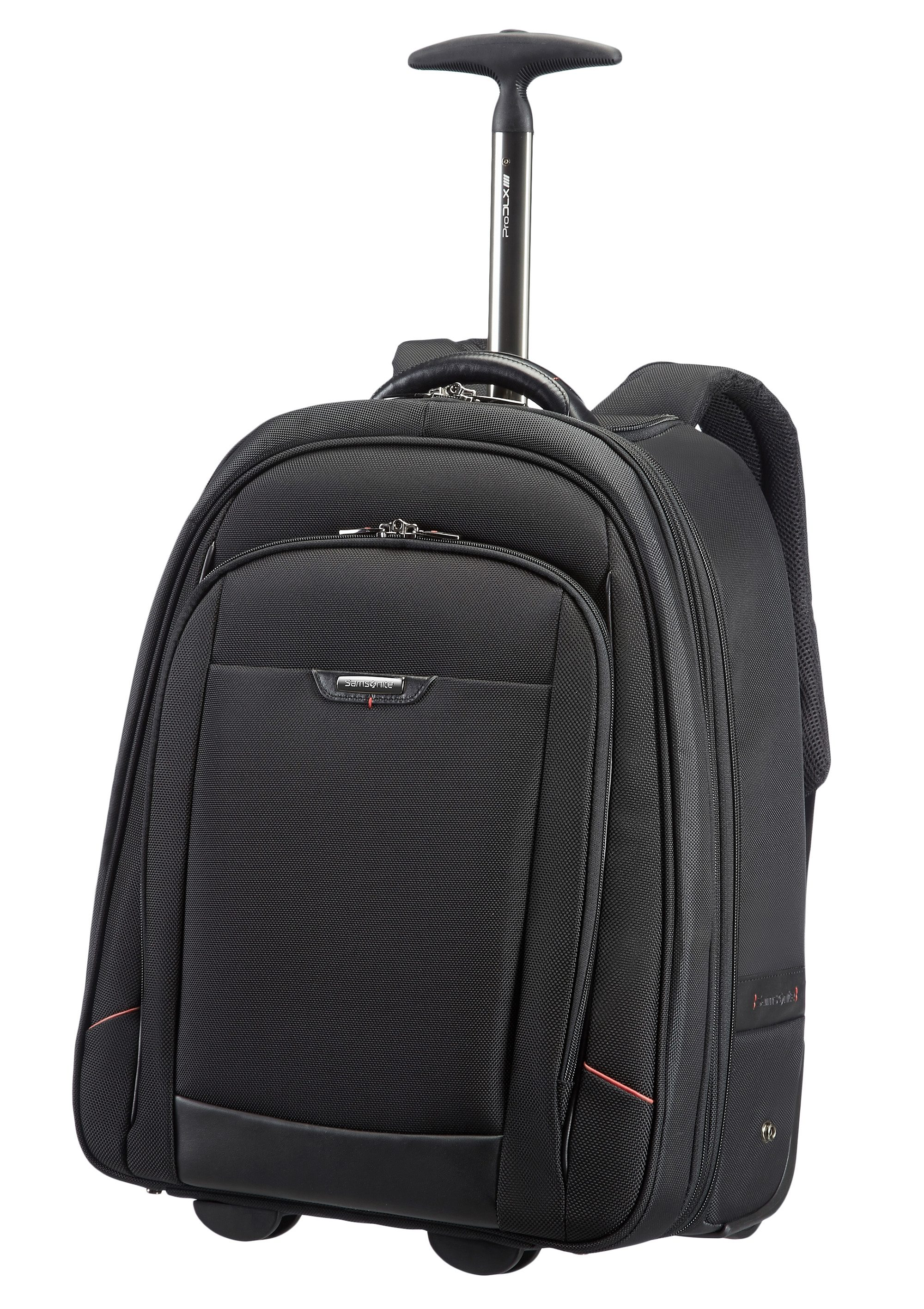 Samsonite Rucksacktrolley mit 2 Rollen, TSA-Schloss und 17,3-Zoll Laptopfach, »Pro-DLX 4«