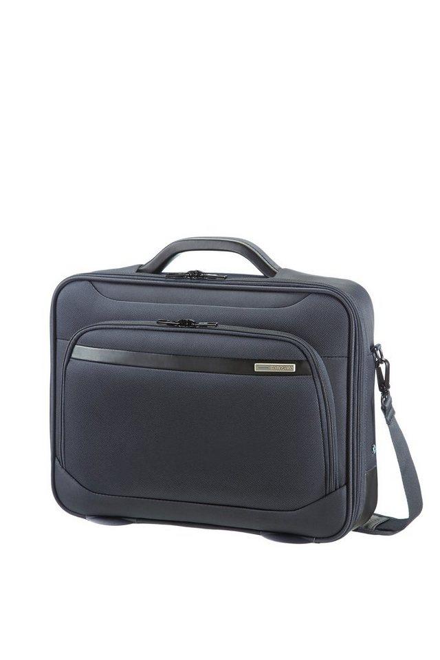 Samsonite Businesstasche mit Schultergurt, Laptop- und Tabletfach, »Vectura« in sea grey