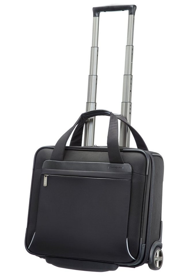 Samsonite Businesstrolley mit 2 Rollen, Tablet- und 15,6-Zoll Laptopfach, »Spectrolite« in schwarz