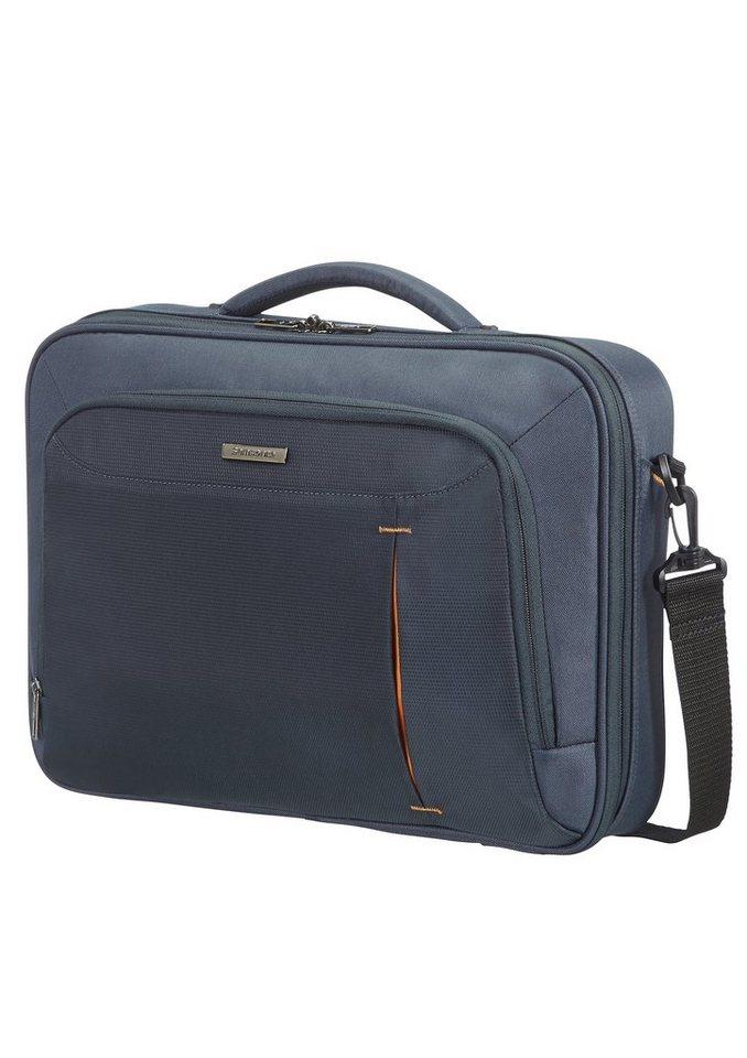 Samsonite Businesstasche mit Schultergurt, Tablet- und 16-Zoll Laptopfach, »GuardIT« in grau