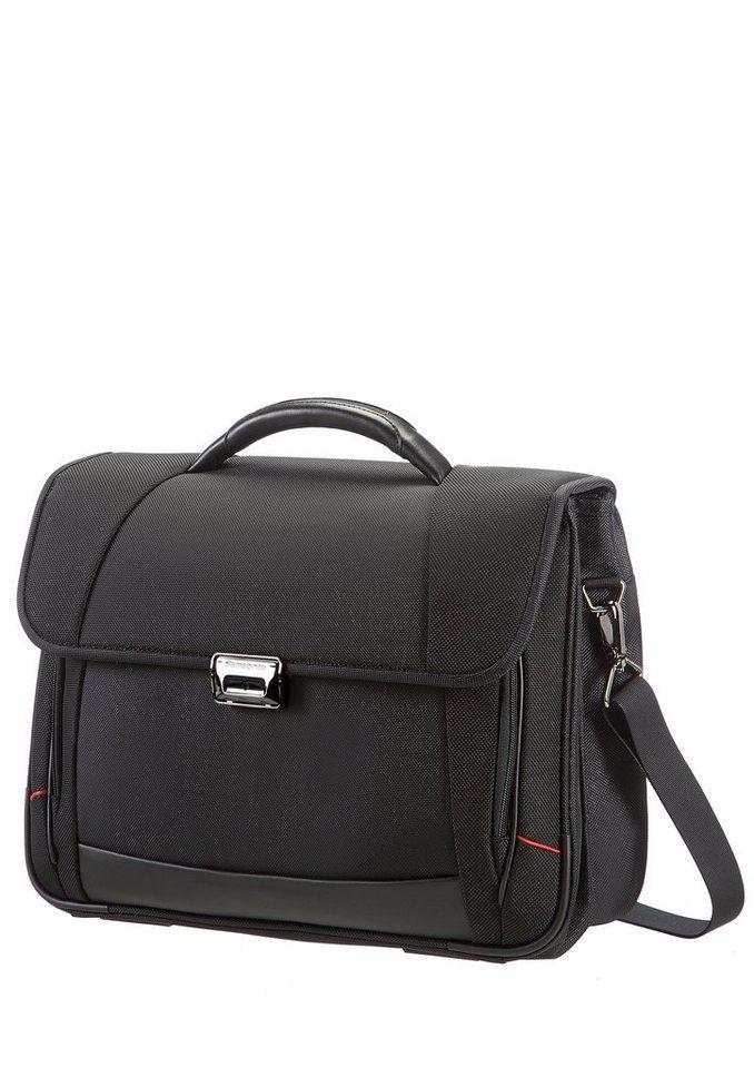 Samsonite Businesstasche mit 2 Fächern, Tablet- und 16-Zoll Laptopfach, »Pro-DLX4« in schwarz