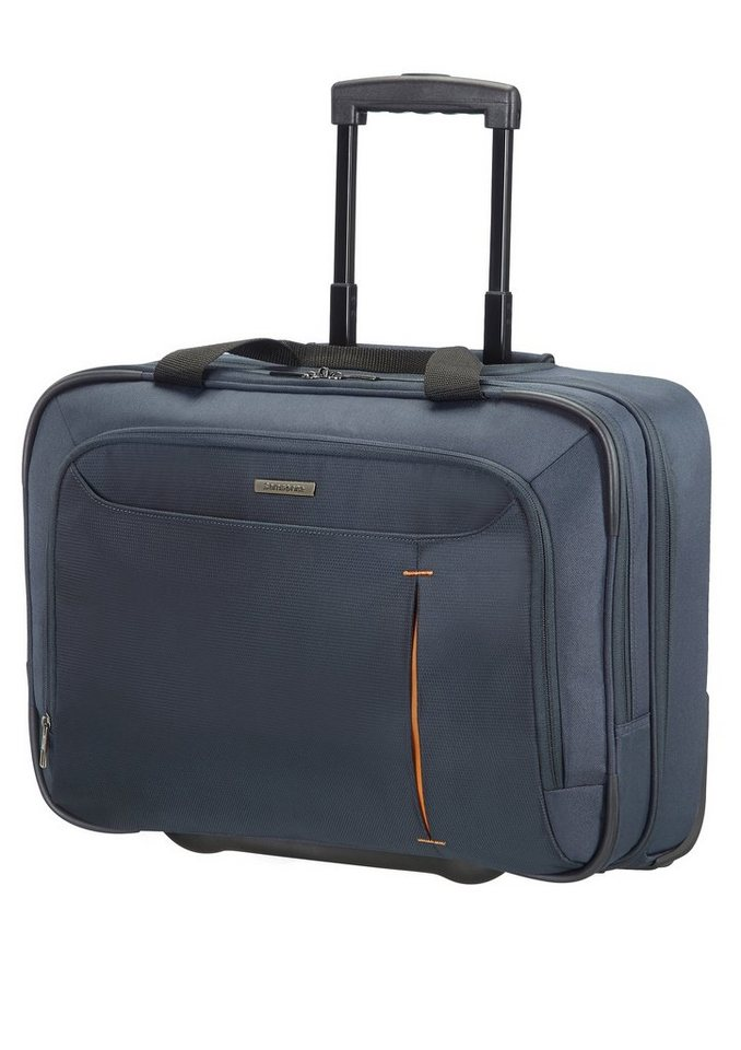 Samsonite Businesstrolley mit 2 Rollen und 17,3-Zoll Laptopfach, »GuardIT« in grau