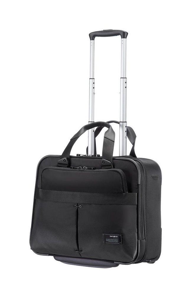Samsonite Businesstrolley mit 2 Rollen und 16-Zoll Laptopfach, »Cityvibe« in jet black