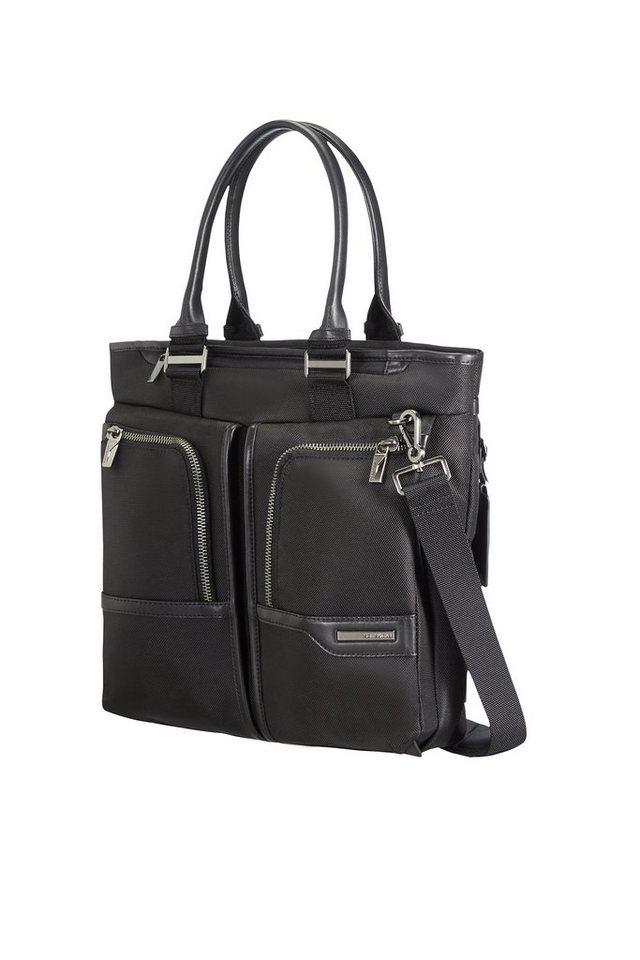 Samsonite Businesstasche mit Schultergurt und 14,1-Zoll Laptopfach, »GT Supreme Female« in black/black