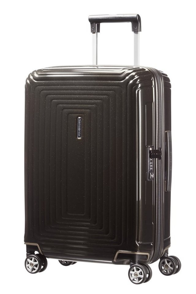 samsonite hartschalen trolley mit 4 rollen und tsa schloss. Black Bedroom Furniture Sets. Home Design Ideas