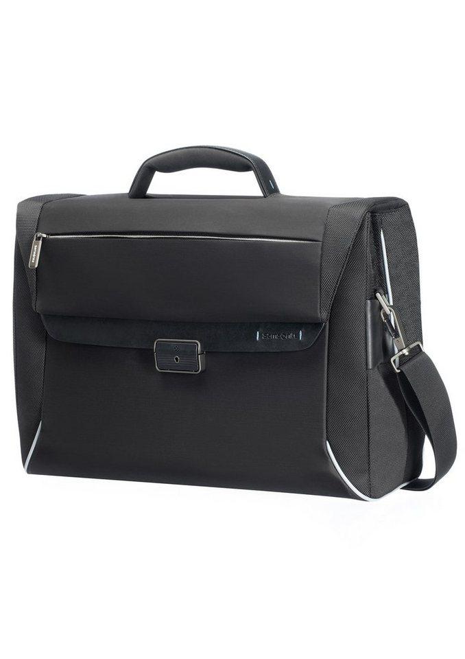Samsonite Businesstasche mit 16-Zoll Laptop- und Tabletfach, abschließbar »Spectrolite« in schwarz