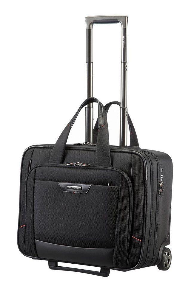 Samsonite Businesstrolley mit 2 Rollen, Tablet- und Laptopfach, »PRO-DLX 4 SP« in black