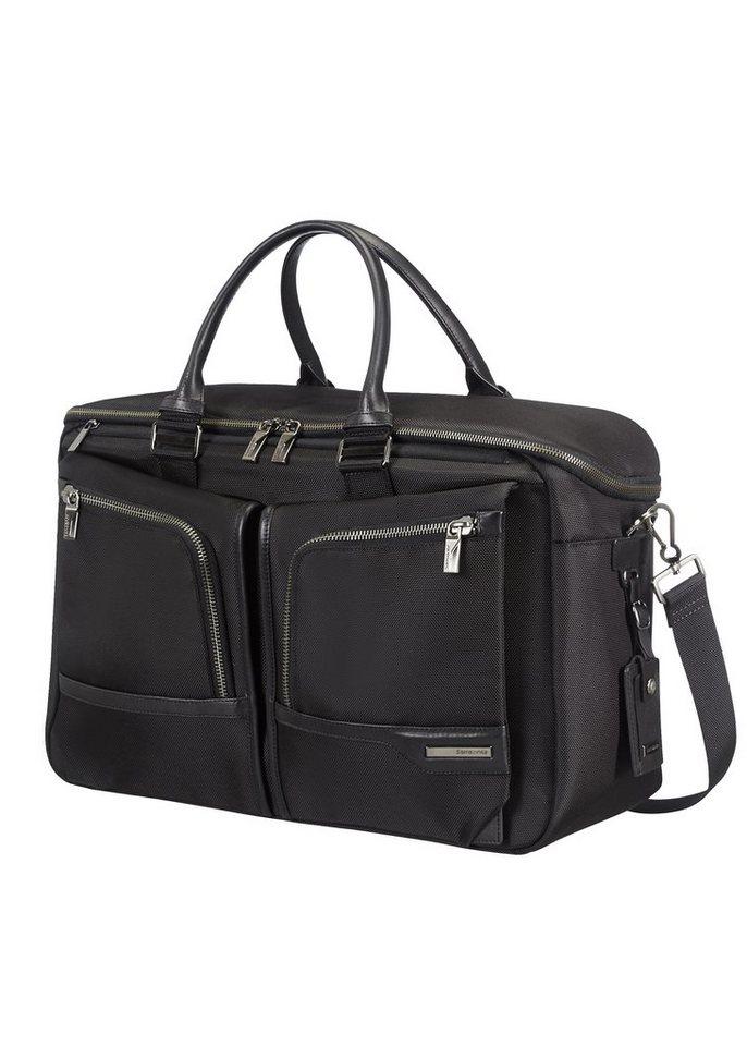 Samsonite Reisetasche mit Tablet- und 14,1-Zoll Laptopfach, »GT Supreme« in black/black