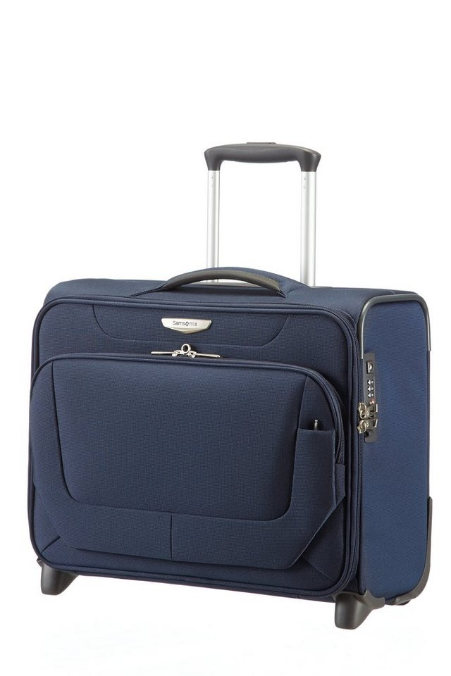 Samsonite Businesstrolley mit 2 Rollen, TSA-Schloss und 16,4-Zoll Laptopfach, »Spark« in dark blue
