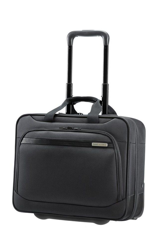 Samsonite Businesstrolley mit 2 Rollen, Tablet- und 15,6-Zoll Laptopfach, »Vectura« in black