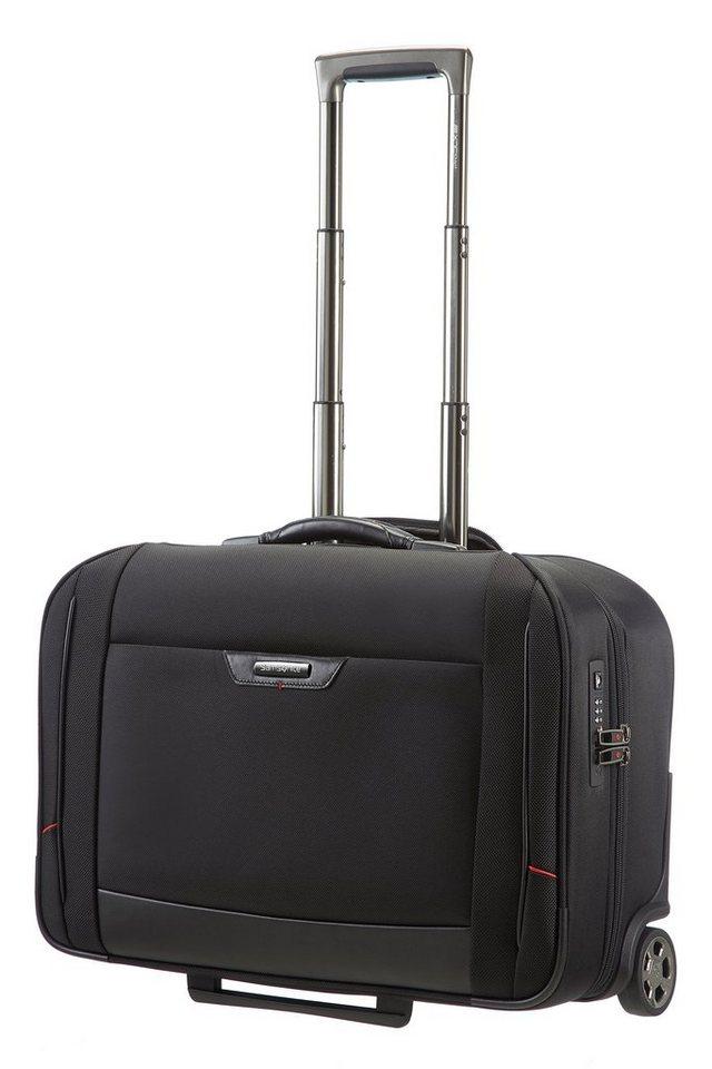 Samsonite Trolley-Kleidersack mit 2 Rollen und TSA-Schloss, »Pro-DLX4« in schwarz