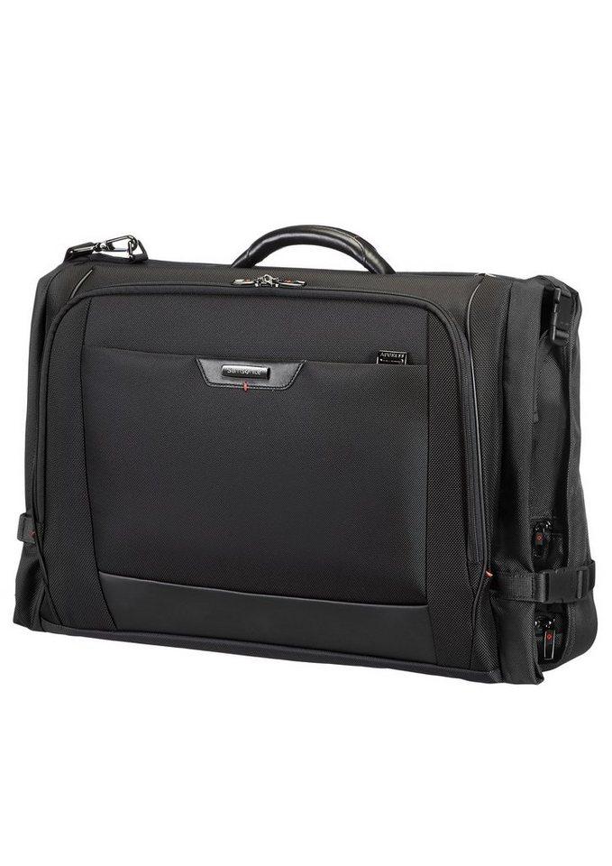 Samsonite Kleidersack mit TSA-Schloss und Schultergurt, »Pro-DLX4« in schwarz