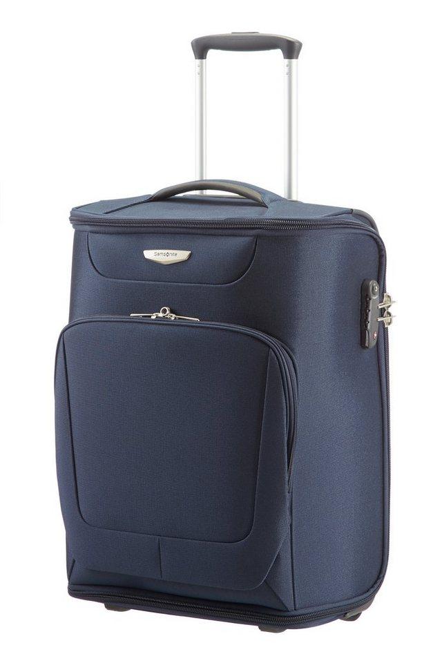 Samsonite Trolley-Kleidersack mit 2 Rollen, Kleiderbügel und Schuhtasche, »Spark« in dark blue