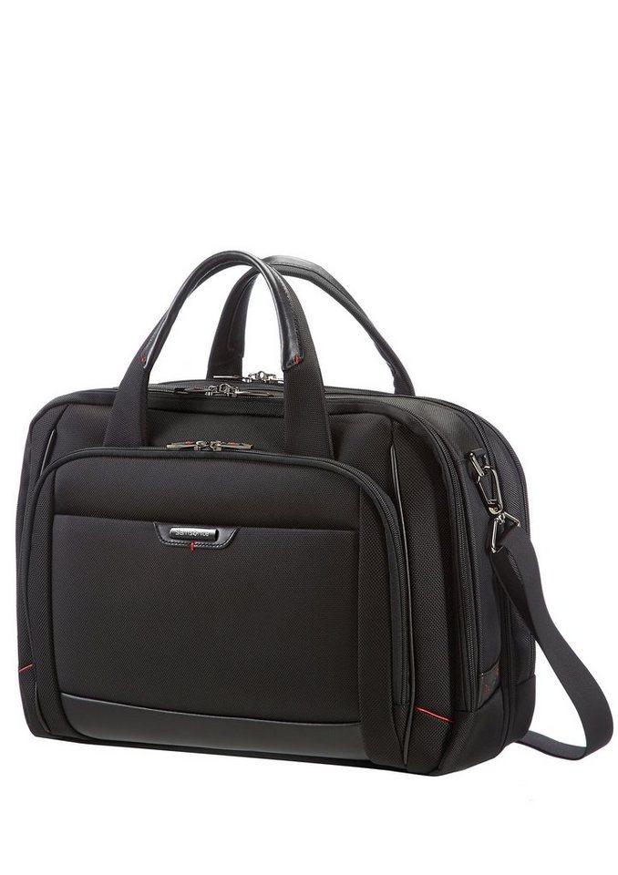 Samsonite Businesstasche mit Erweiterungsfunktion, Tablet- und 16-Zoll Laptopfach, »Pro-DLX 4«« in schwarz