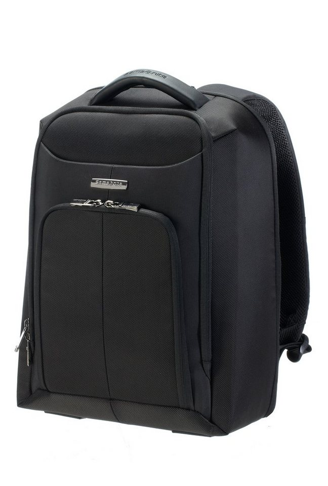 Samsonite Rucksack mit 16-Zoll Laptopfach und Trolley-Aufsteck-System, »Ergo-Biz« in schwarz
