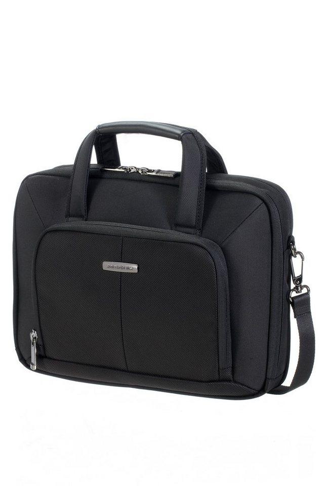 Samsonite Aktentasche mit 12,1-Zoll Laptopfach und Schultergurt, »Ergo-Biz Ultra Mobile Case« in schwarz