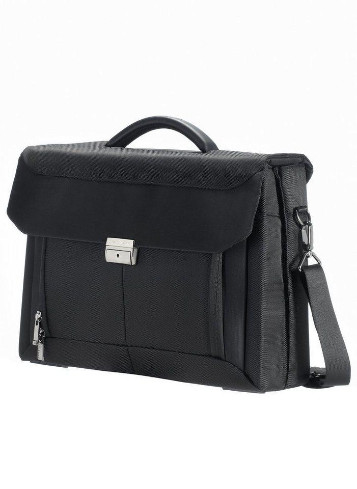 Samsonite Aktentasche mit 15,6-Zoll Laptopfach, abschließbar, »Ergo-Biz« in schwarz