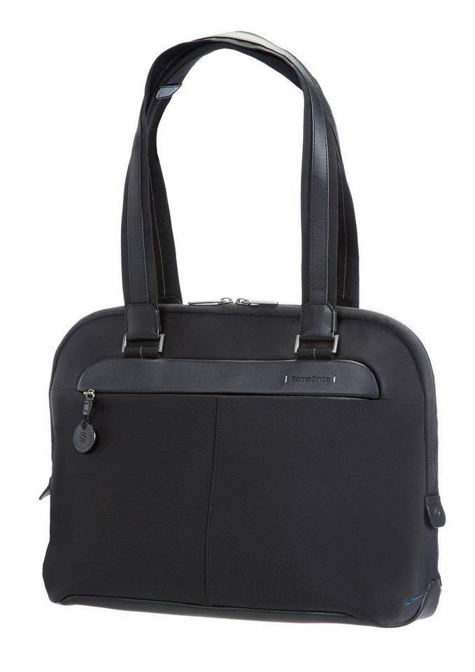Samsonite Businesstasche mit Tablet- und 15,6-Zoll Laptopfach, »Spectrolite Female«. in schwarz