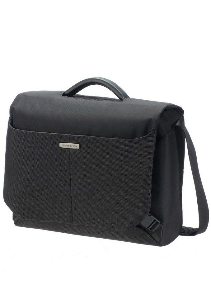 Samsonite Businesstasche mit Tablet- und 16-Zoll Laptopfach, »Ergo-Biz Messenger« in schwarz